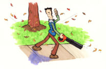 saturday morning cartoons 20a – leafblower